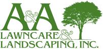 A A Lawn Care Logo