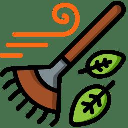Leaf Rake Icon